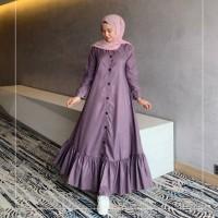 Baju Gamis Terbaru Peony Dress muslim Wanita