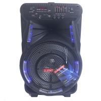 Speaker Portable Amplifier Wireless Meeting ASATRON HT-8880 UKM 12inch