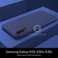 Case Samsung Galaxy A50s A30s A50 Evoskin Anti Skid Silicone - Hitam