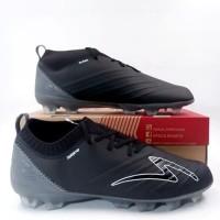Sepatu Bola Specs Swervo Galatica FG Black Dark Cool Grey 100987 Ori