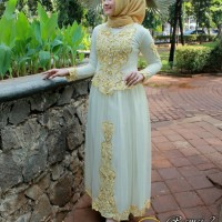 baju kebaya pengantin/akad long dres