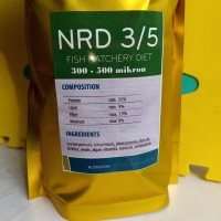 Pakan ikan NRD 3/5 ( 300-500 mikron ) 500 gram