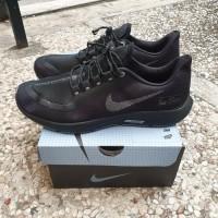 Sepatu Nike Air Zoom Pegasus 35 Shield All Black Premium Quality