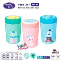 Baby Safe Food Jar Vacuum Flask 400 Ml Termos Wadah Makanan Bayi