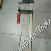 Klem F/ Clamp F/ Bais Papan F ukuran 120-800mm