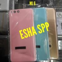 Backdoor Backcover Tutup belakang Xiaomi MI6 Mi 6 Original Plastik