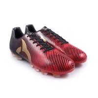 Sepatu Bola Ortuseight FORTE HELIOS FG - Ortred/Black/Gold