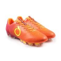 Sepatu Bola Ortuseight CATALYST ORACLE FG - Ortrange/Maroon/Minion Yel