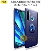 Case Realme 5 Pro Autofocus Invisible Iring Soft Case