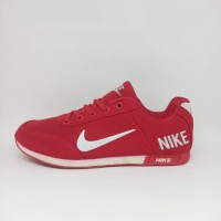 Sepatu Nike Neo Merah Maron Grade Original Pria Wanita Merah Casual