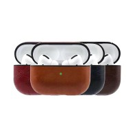 Case Apple AirPods Pro Premium Leather Protective Pouch Casing Kulit