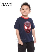 Baju Kaos T-SHIRT Anak Cowok Led (bisa nyala) Spiderman