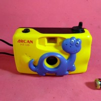 kamera kuning analog pocket jadul vintage antik lawas kuno rare langka