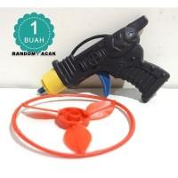 Mainan Pistol baling terbang kecil - PISTOL UFO MINI - KITIRAN PISTIK