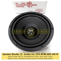 Speaker 12 inch Woofer Audax AX - 1293 WPB8 MKII Bass Polypropylene