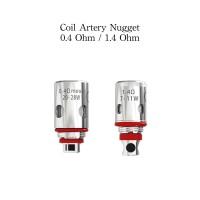 Coil Artery Nugget AIO 100% Authentic - Coil Artery HP Cores Sea Grass