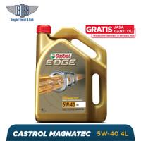 Oli Mobil Castrol EDGE - 5W-40 GALON - Gratis Jasa Ganti Oli dan Chec