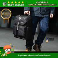 BUSINESS BACKPACK TOMTOC A90E01D VINTAGE TACTICAL STYLE 15'6 INC BLACK