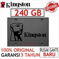 SSD KINGSTON V400 240GB SATA3 SOLID STATE DISK ORIGINAL BARU SSD 2.5