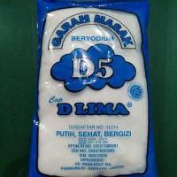 Garam masak beryodium D Lima
