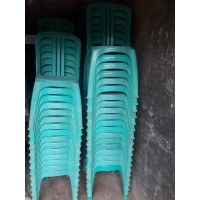 Kursi Sender Plastik Napolly 101 BEKAS!! + Tenda & Panggung