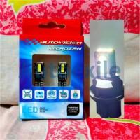 Autovision Microzen LED T10 W5W 4.5W Canbus Putih White Lampu Senja