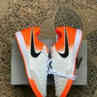 Sepatu Futsal Nike Tiempo X Finale White Orange