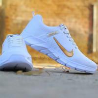 Sepatu Nike Air Presto Putih Centang Emas
