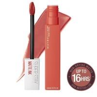 Maybelline superstay matte ink city liquid lipstick lipstik Versatile