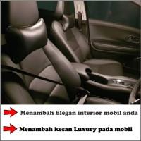 GROSIR Bantal Leher Headrest Jok Mobil Kulit Synt. PREMIUM MURAH W5
