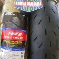BAN IRC FASTI 2 FASTI2 UKURAN 90 80 RING 17 ROAD RACE SOFT COMPOUND