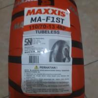 Maxxis MA-F1ST 110 . 70 - 13 . Ban depan ukuran standard Yamaha NMa