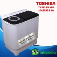 Mesin Cuci 2 Tabung Toshiba VH-H85MN 8KG Low Watt Cuci dan Kering