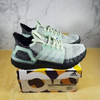 Sepatu Adidas Ultraboost Ultra Boost 19 Linen Green Ash Black Mint
