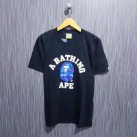 Kaos / tshirt a bathing ape bape x neighborhood premium distro
