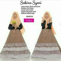 Sabrina Syari Kids Baju Muslim Gamis Anak Perempuan Usia 9-13 tahun