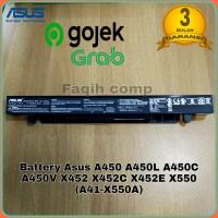 Baterai Batre Original Laptop Asus A450 A450C A450L A450LA A41-X550