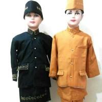 Baju Anak Adat Pria Sunda 7-10 th
