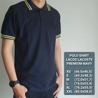 Baju Polo Shirt | Kaos Pria - Premium NAVY