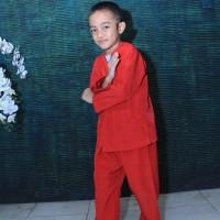 Setelan Baju Pangsi Betawi Anak Setelannya saja - Hitam, 1