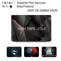 Body Protector ASUS TUF Gaming FX505 - KAKAY 1pc TOP COVER Character