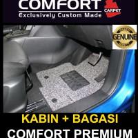 Karpet Mobil Honda Brio / Brio Satya 2baris+bagasi Comfort Premium
