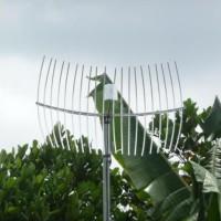 Antena Grid Induksi Penguat Sinyal Internet HP Modem
