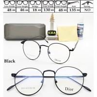 kacamata minus URSULA frame kacamata korea kacamata korea bulat metal