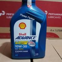 Oli Shell Matic AX7 10w30 0,8ltr