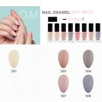 Kutek Halal INGLOT O2M Breathable Soft Matte 501 503 504 507 508