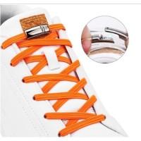 Tali Sepatu Magnet Easy Shoelace Magnetic Simple Lazy - Hitam