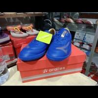 Sepatu futsal original Ardiles Biru Royal/Emas FLS-FL-TG size 34-37