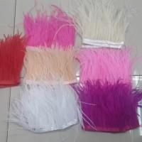 Bulu renda kaswari-Bulu Ostrit-Asesoris Baju