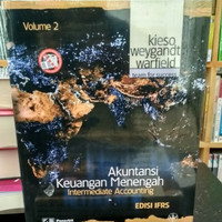 Buku Termurahh AKUNTANSI KEUANGAN MENENGAH Volume 2 EDISI IFRS - KIESO